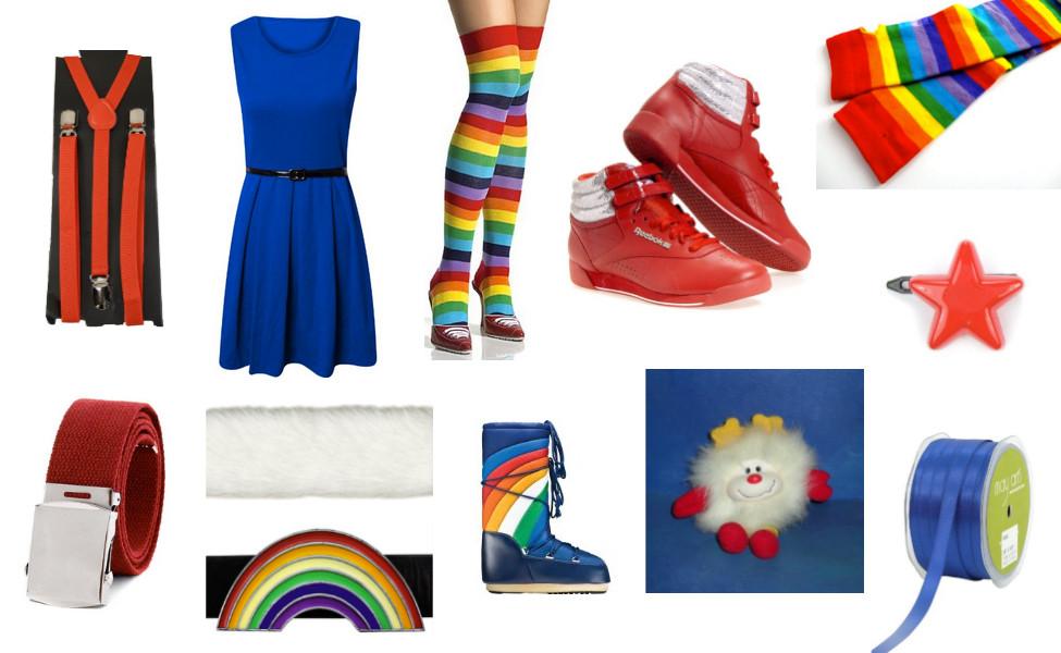 Best ideas about Rainbow Brite Costume DIY . Save or Pin Rainbow Brite Costume Now.