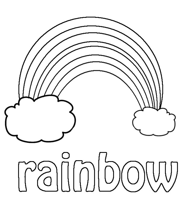Best ideas about Rainbow Preschool Coloring Sheets . Save or Pin Winged Strawberry Resources for Parents and Teachers Now.
