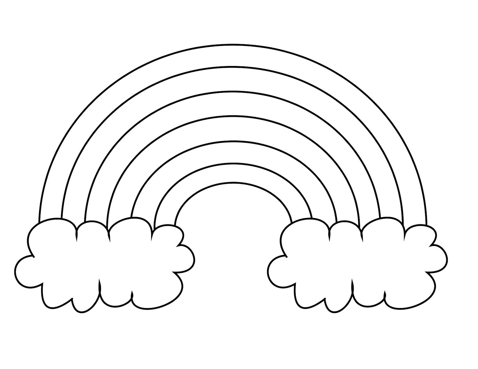 Best ideas about Rainbow Preschool Coloring Sheets . Save or Pin 14 Best of Flower Preschool Color Worksheets Now.