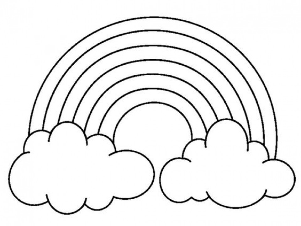 Best ideas about Rainbow Preschool Coloring Sheets . Save or Pin Get This Printable Rainbow Coloring Pages p79hb Now.