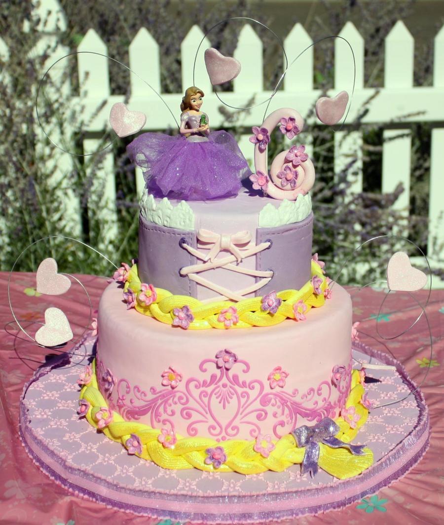 Best ideas about Rapunzel Birthday Cake . Save or Pin Rapunzel Birthday Cake CakeCentral Now.