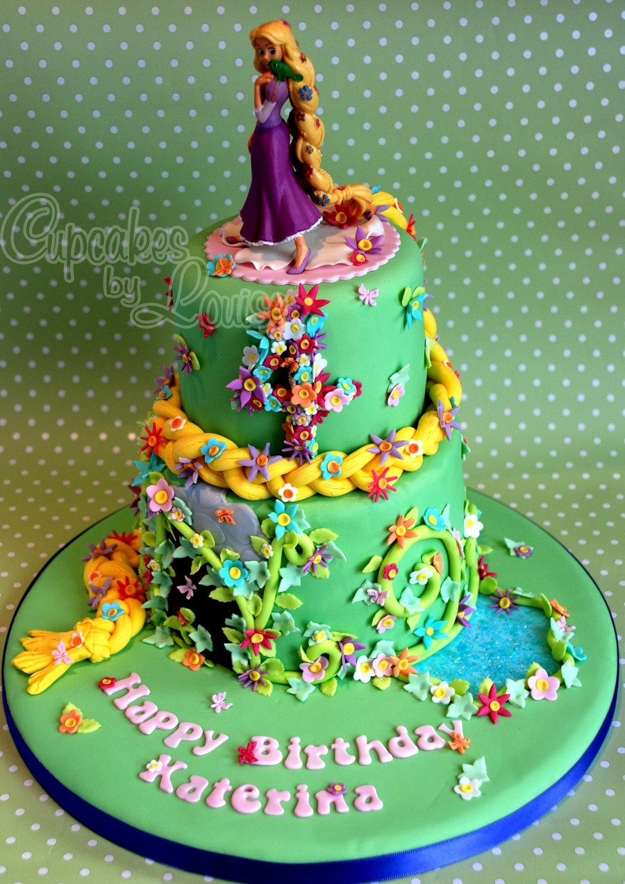 Best ideas about Rapunzel Birthday Cake . Save or Pin Rapunzel Cake CakeCentral Now.