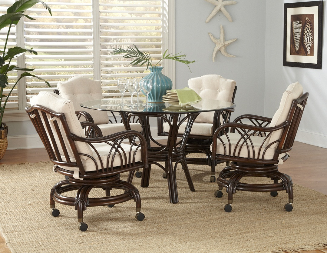 Best ideas about Rattan Dining Set . Save or Pin Rattan Swivel Dining Set Now.