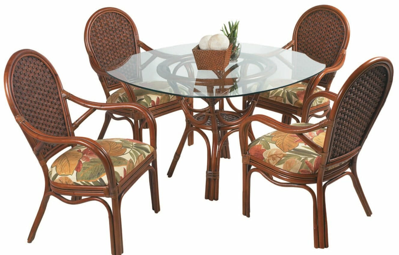 Best ideas about Rattan Dining Set . Save or Pin 55 18 Rattan Dining Set Now.