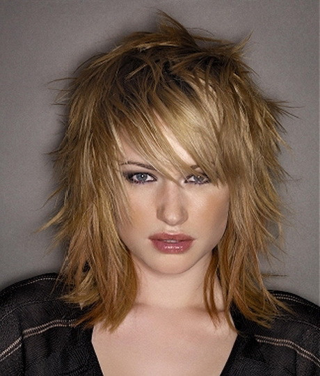 Best ideas about Razor Cut Hairstyles For Medium Length Hair . Save or Pin Medium length razor haircuts Now.