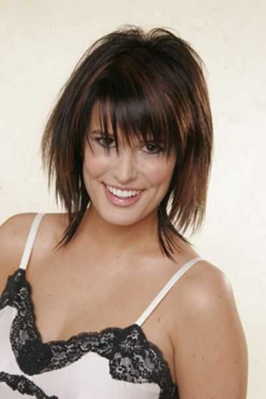 Best ideas about Razor Cut Hairstyles For Medium Length Hair . Save or Pin Picture Gallery of Short Razor Cut Hairstyles Now.