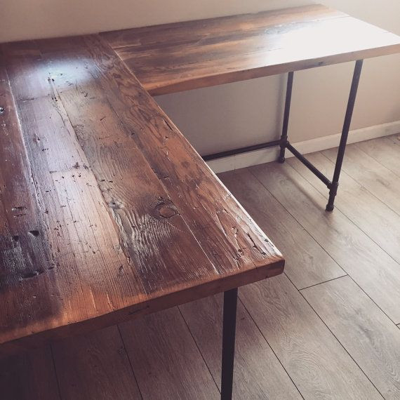 Best ideas about Reclaimed Wood Desk DIY . Save or Pin 25 best ideas about Reclaimed wood desk on Pinterest Now.