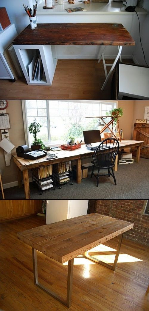 Best ideas about Reclaimed Wood Desk DIY . Save or Pin 17 Best ideas about Reclaimed Wood Desk on Pinterest Now.