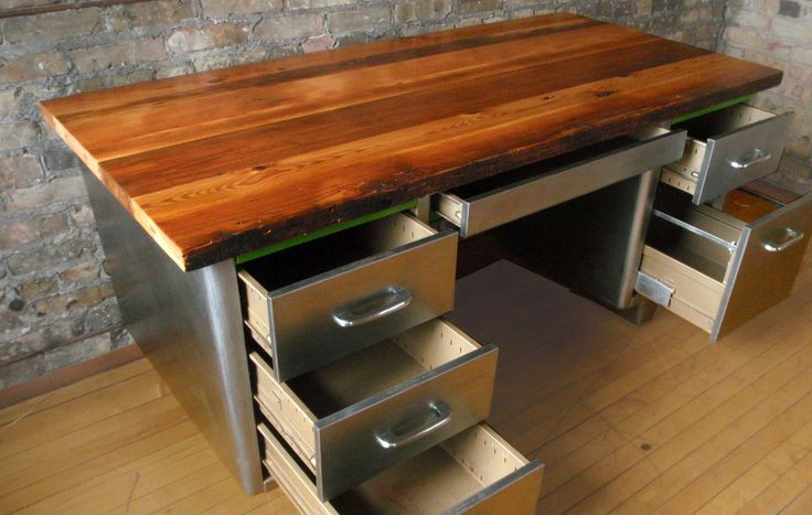 Best ideas about Reclaimed Wood Desk DIY . Save or Pin 1000 ideas about Reclaimed Wood Desk on Pinterest Now.