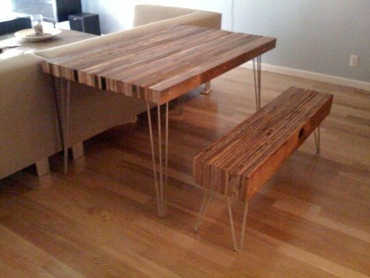 Best ideas about Reclaimed Wood Desk DIY . Save or Pin Cool DIY Beginner Easy Simple Woodworking Projects Plans Now.