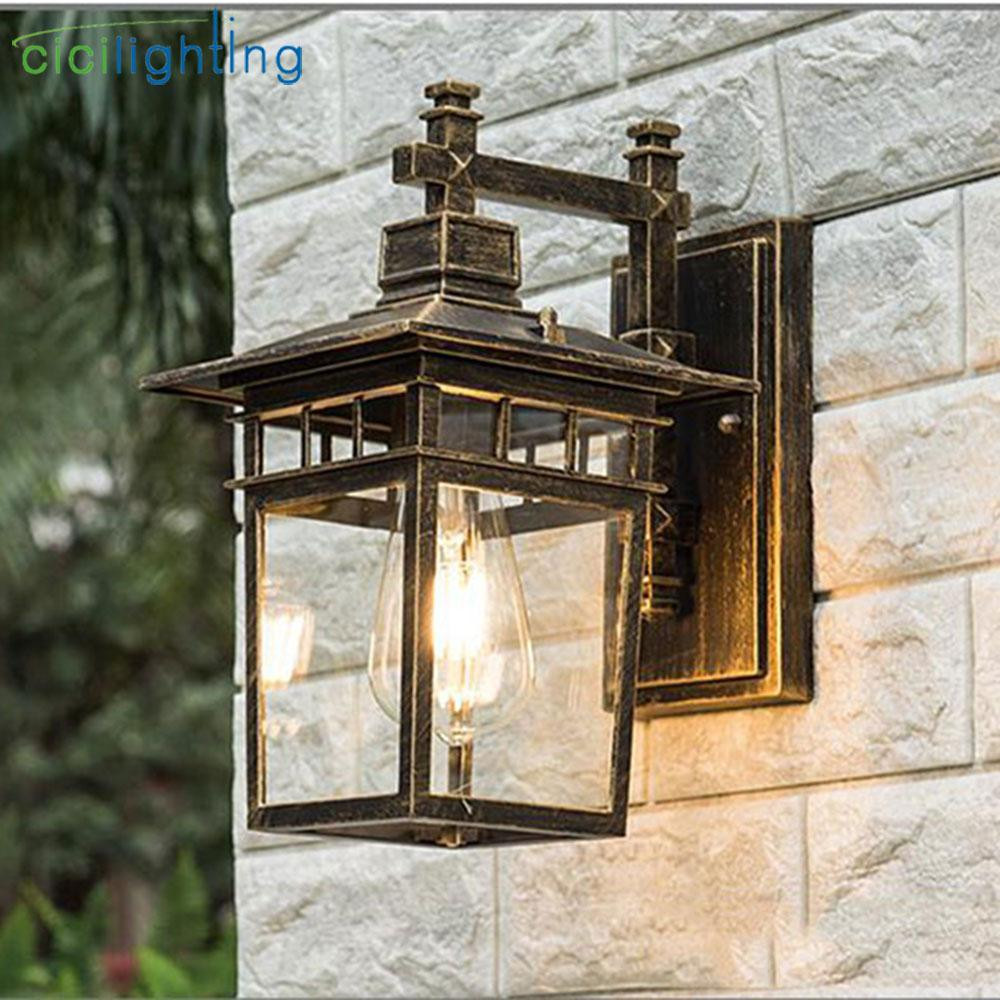 Best ideas about Red Porch Lights . Save or Pin 2019 Vintage Art Decoration Outdoor Porch Lights Aluminum Now.