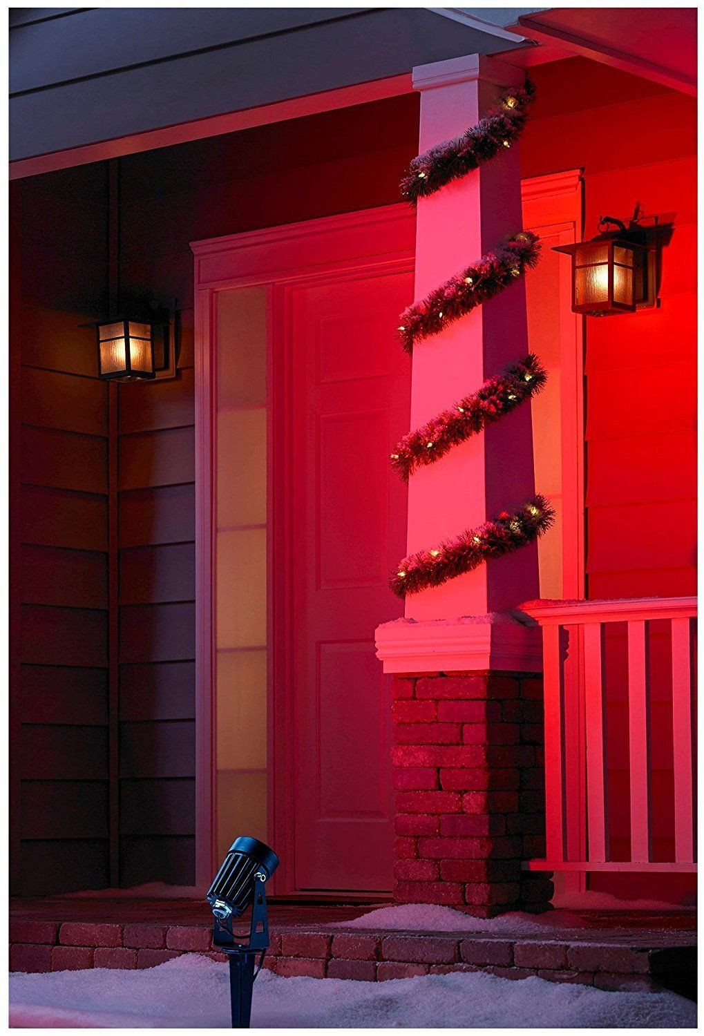 Best ideas about Red Porch Lights . Save or Pin Red Outdoor Wall Light Stonescapeco Lights and Lamps Now.