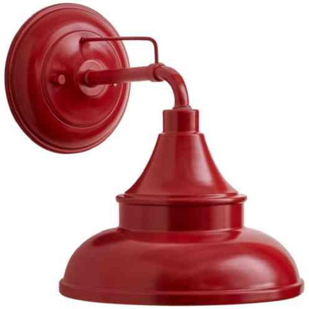Best ideas about Red Porch Lights . Save or Pin Hampton Bay Colonial Red Outdoor Barn Light Wall Mount Now.