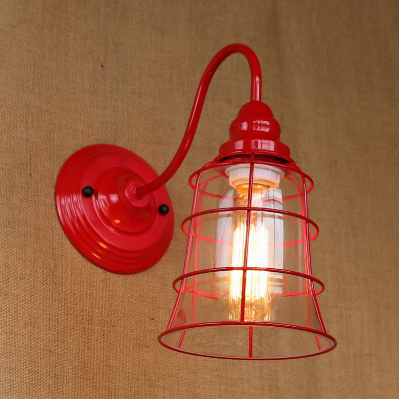 Best ideas about Red Porch Lights . Save or Pin Replica designer fashional style mini red colour glass Now.