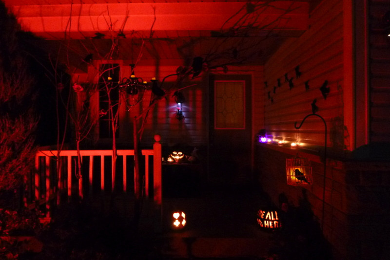 Best ideas about Red Porch Lights . Save or Pin A Little Bit of a Gothic Wonderland northstory Now.