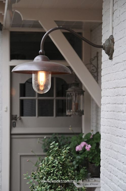 Best ideas about Red Porch Lights . Save or Pin Farmhouse Touches For the Home Pinterest Now.