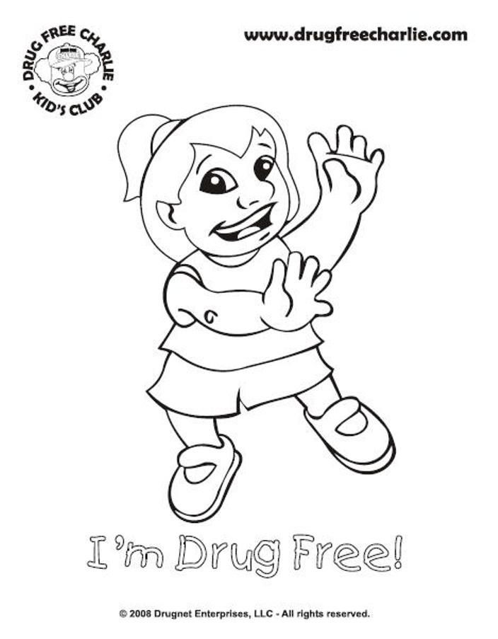 Best ideas about Red Ribbon Week Coloring Pages For Kids . Save or Pin Free Printable Coloring Pages For Red Ribbon Week Now.