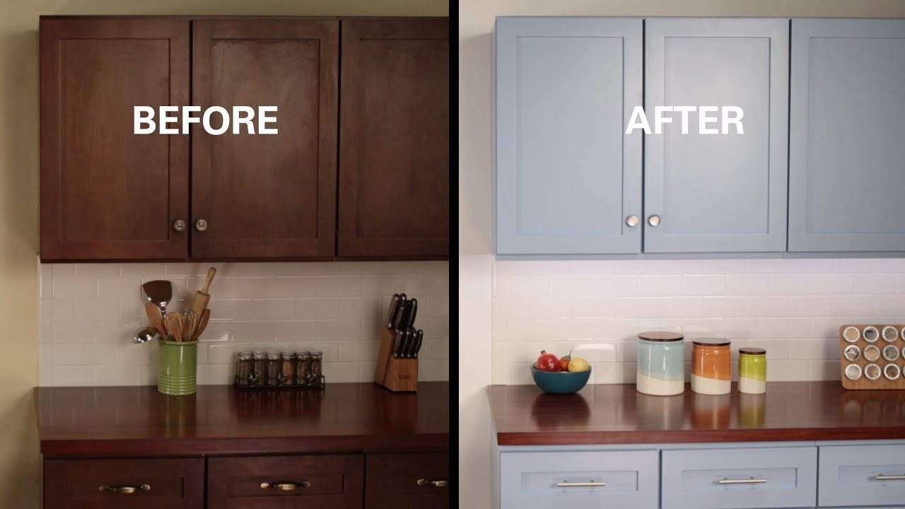 Best ideas about Refinishing Cabinets DIY . Save or Pin KILZ How To Refinish Kitchen Cabinets Now.