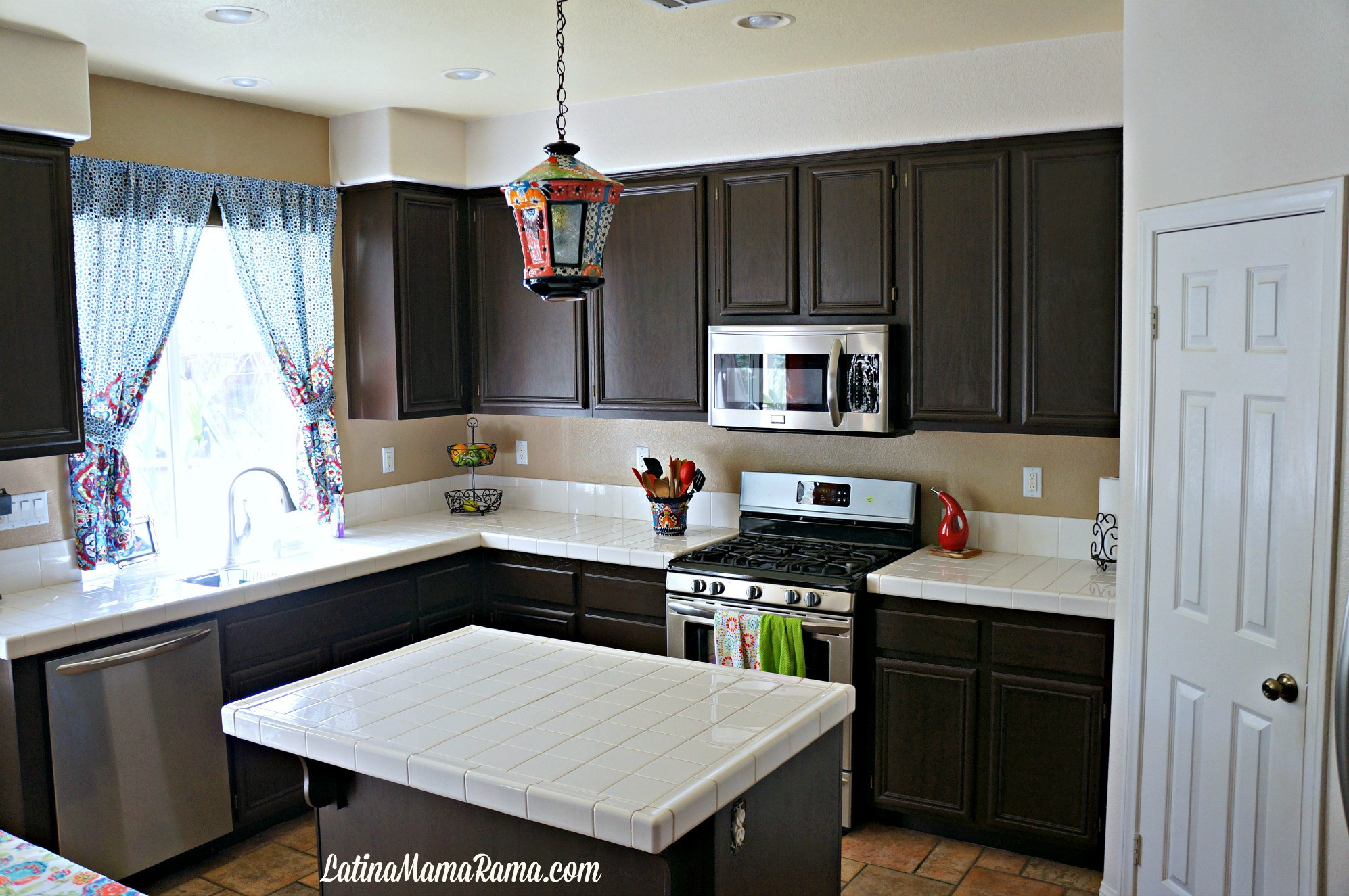 Best ideas about Refinishing Cabinets DIY . Save or Pin How to Refinish Your Kitchen Cabinets Latina Mama Rama Now.