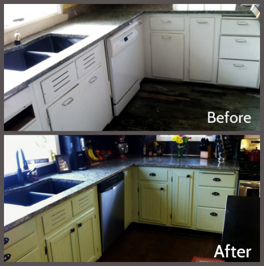 Best ideas about Refinishing Cabinets DIY . Save or Pin Kitchen Cabinet Refacing The Happy Housewife™ Home Now.