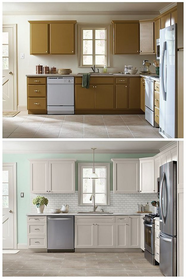 Best ideas about Refinishing Cabinets DIY . Save or Pin Cabinet Refacing Ideas DIY Projects Craft Ideas & How To's Now.