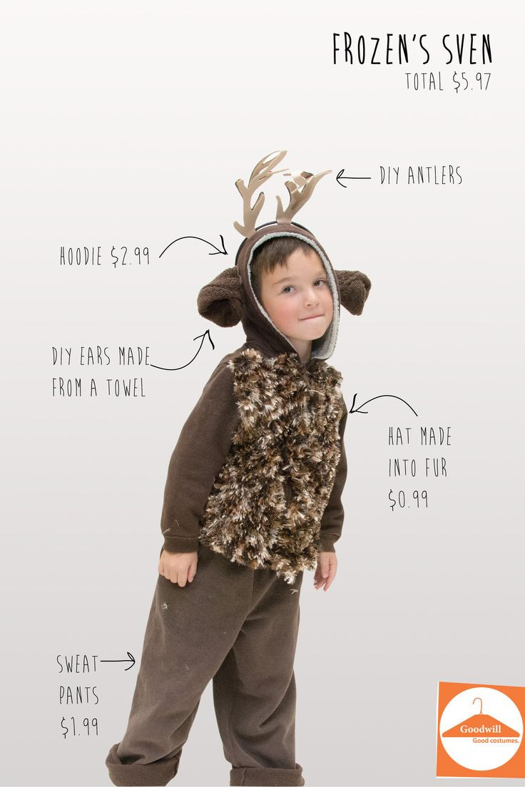 Best ideas about Reindeer Costume DIY . Save or Pin 1000 ideas about Sven Costume on Pinterest Now.
