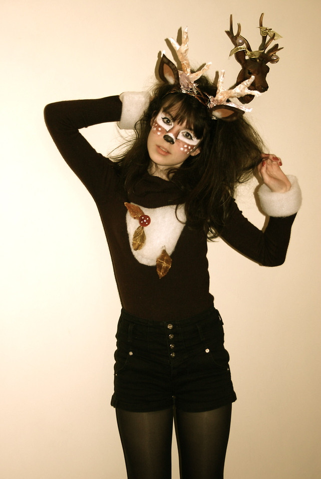 Best ideas about Reindeer Costume DIY . Save or Pin Megan Blair Topshop Primark Hobbycraft I Prefer Now.