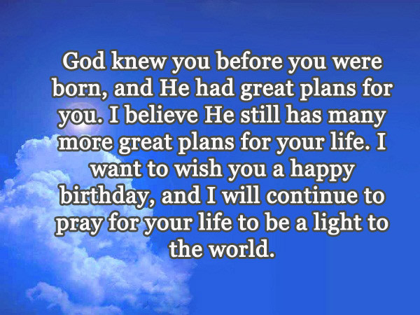 Best ideas about Religious Birthday Wish For Son . Save or Pin Christian Birthday Quotes & Wishes 2HappyBirthday Now.