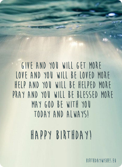 Best ideas about Religious Birthday Wish For Son . Save or Pin Religious Birthday Wishes For Christian Now.