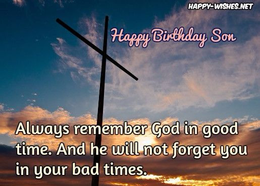 Best ideas about Religious Birthday Wish For Son . Save or Pin Religious Birthday Wishes For Son Happy Wishes Now.