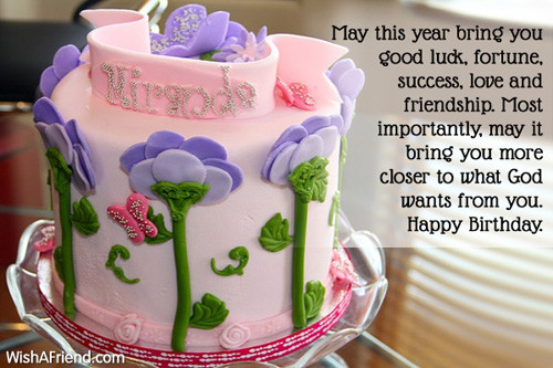 Best ideas about Religious Birthday Wishes For A Friend . Save or Pin Religious Birthday Wishes Now.