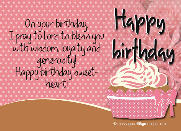 Best ideas about Religious Birthday Wishes For Sister . Save or Pin Christian Birthday Wishes Religious Birthday Wishes Now.