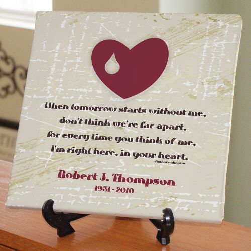 Best ideas about Remembrance Gift Ideas . Save or Pin 17 Best ideas about Memorial Gifts on Pinterest Now.