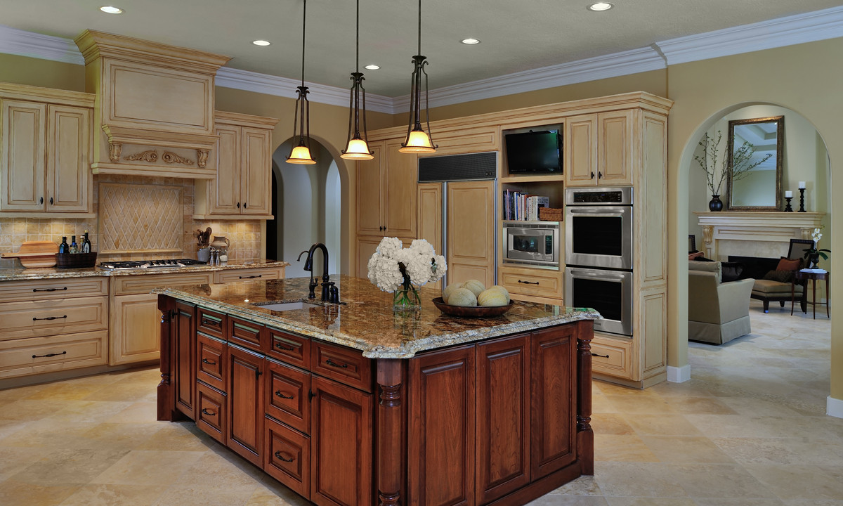 Best ideas about Remodel Kitchen Ideas . Save or Pin Design in the Woods Traditional Kitchen Remodel Before Now.