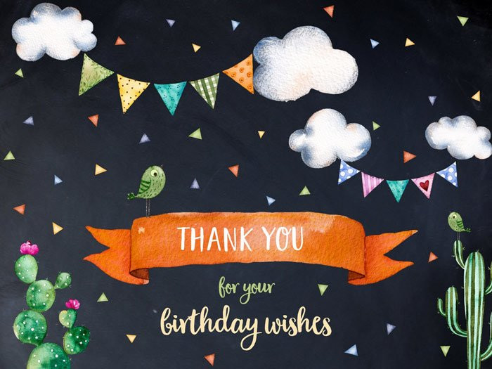 Best ideas about Reply To Birthday Wish . Save or Pin Best Thank You Replies to Birthday Wishes Now.