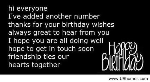 Best ideas about Reply To Birthday Wish . Save or Pin Happy birthday wish reply US Humor Funny pictures Now.