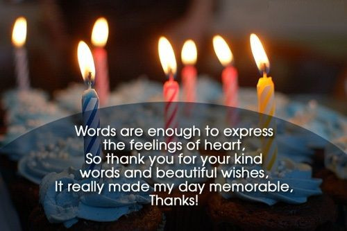 Best ideas about Reply To Birthday Wish . Save or Pin Best 25 Reply for birthday wishes ideas on Pinterest Now.