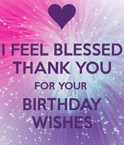 Best ideas about Reply To Birthday Wish . Save or Pin Thanking for birthday wishes reply birthday thank you Now.