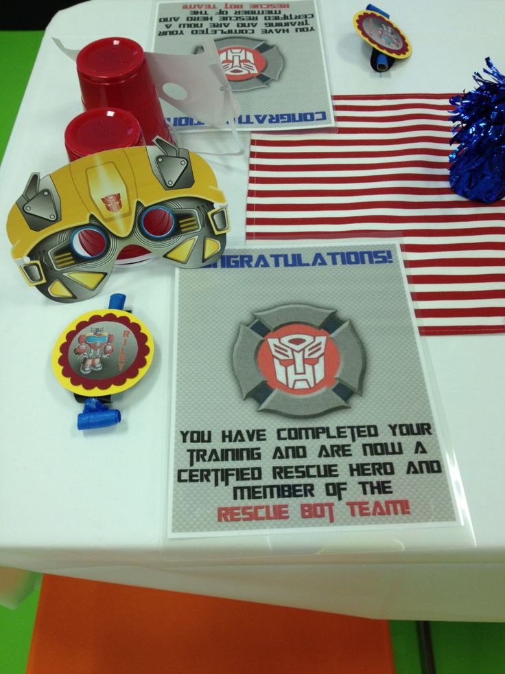 Best ideas about Rescue Bots Birthday Party . Save or Pin 124 best images about Transformers Rescue Bots Birthday on Now.