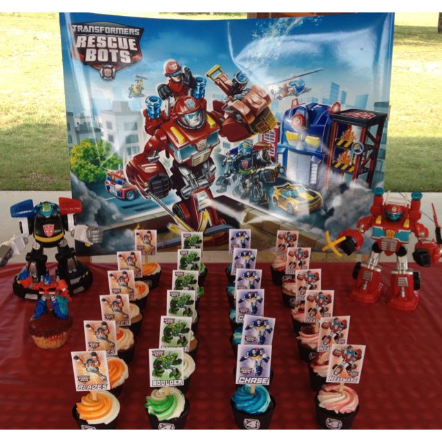 Best ideas about Rescue Bots Birthday Party . Save or Pin 87 best transformers y Rescue Bots fiesta images on Now.
