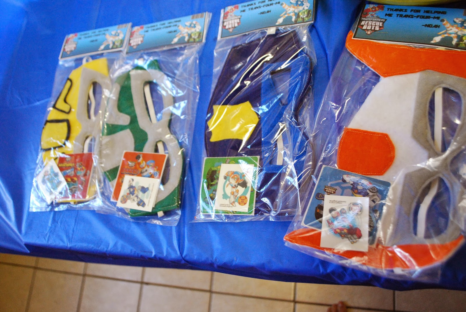 Best ideas about Rescue Bots Birthday Party . Save or Pin Simply Mangerchine Noah s Trans four mers Rescue Bots Party Now.