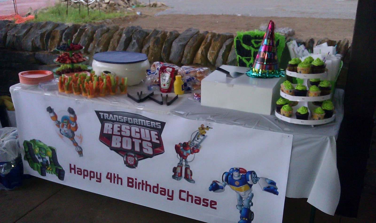 Best ideas about Rescue Bots Birthday Party . Save or Pin Transformer Rescue Bots Birthday Party Now.
