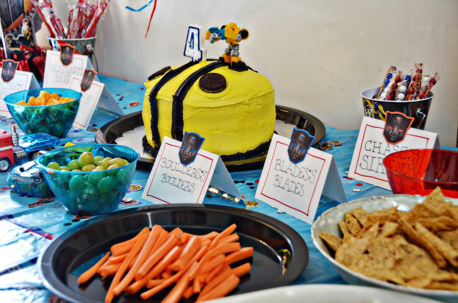 Best ideas about Rescue Bots Birthday Party . Save or Pin Rescue Bot Birthday Party Ideas Now.