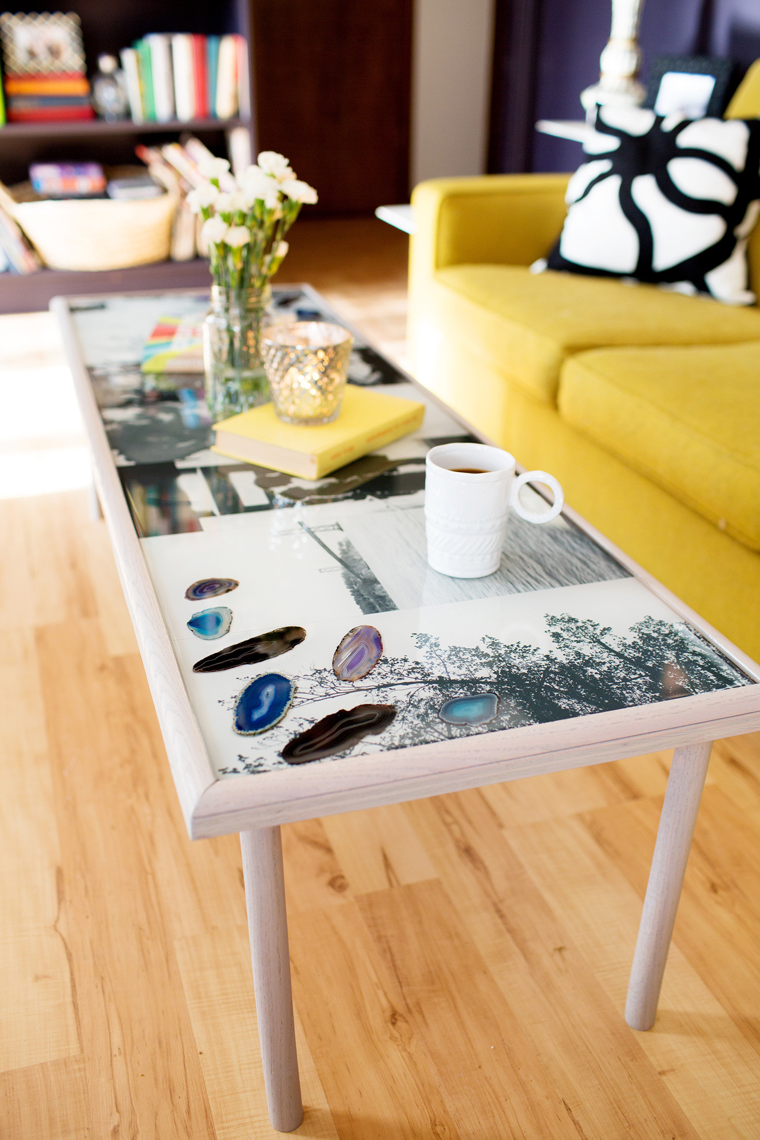 Best ideas about Resin Table DIY . Save or Pin DIY Epoxy Resin Coffee Table A Beautiful Mess Now.