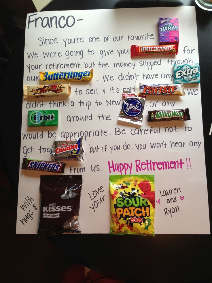 Best ideas about Retirement Gift Ideas . Save or Pin 30 best images about Retirement Ideas on Pinterest Now.