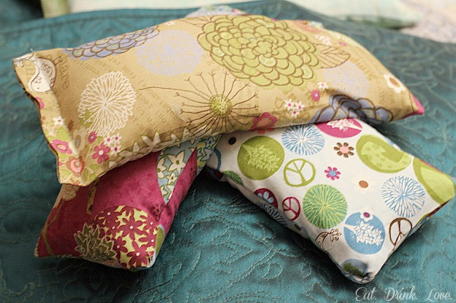 Best ideas about Rice Heating Pad DIY . Save or Pin DIY Heating Pads for Cold Winters and Painful Aches Now.