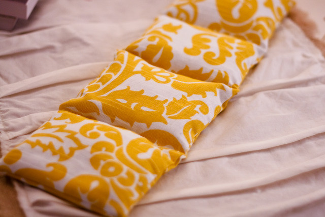 Best ideas about Rice Heating Pad DIY . Save or Pin ELM STREET LIFE DIY heating pad Now.