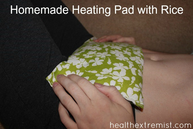 Best ideas about Rice Heating Pad DIY . Save or Pin Homemade Heating Pad with Rice make in minutes Now.