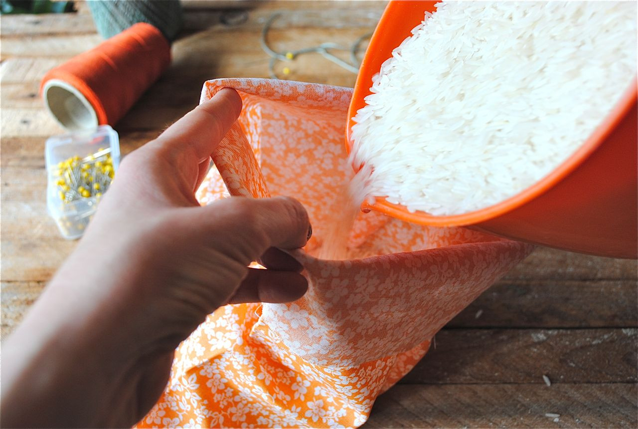 Best ideas about Rice Heating Pad DIY . Save or Pin DIY Rice Sack Heating Pads Now.