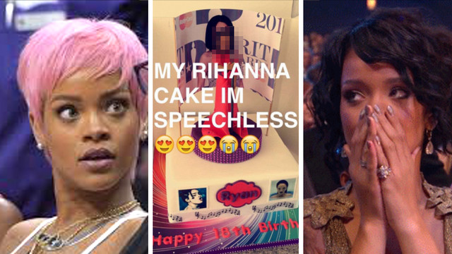 Best ideas about Rihanna Birthday Cake . Save or Pin e Fan Got A Rihanna Cake And The ENTIRE Internet Isn t Now.